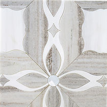 LILLY LACE WATERJET - PALISANDRO AND DOLOMITE MOSAIC