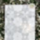 Carrara, White, and Mother of Pearl - Christina Mosaic