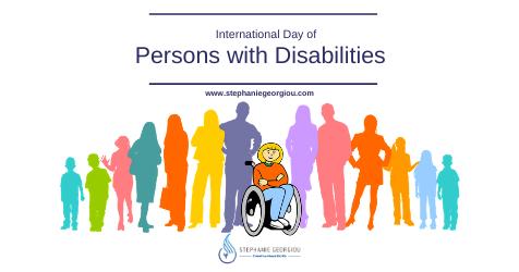 Διεθνής Ημέρα Ατόμων Mε Αναπηρίες
