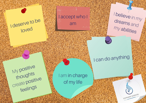 Positive thoughts - Positive feelings! Be nice to yourself!