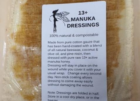 Manuka Dressings Large