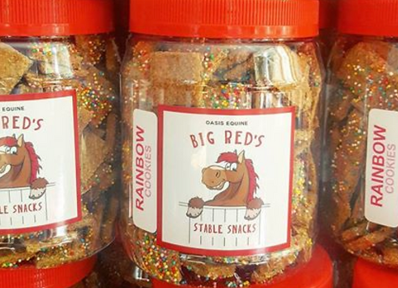 Big Red's Stable Snacks 100s & 1000s Jar - 800gms