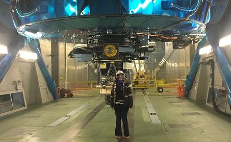 At Subaru Telescope.