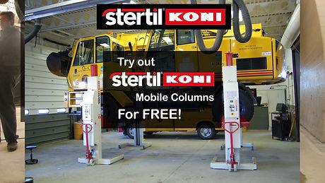 Stertil Koni Mobile Columns