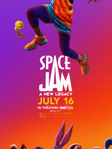 Space Jam: A New Legacy starts July 16th