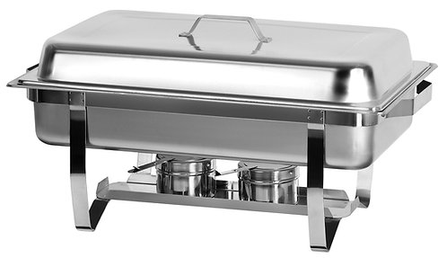 8 QT. Chafing Dish (Full or Divided)