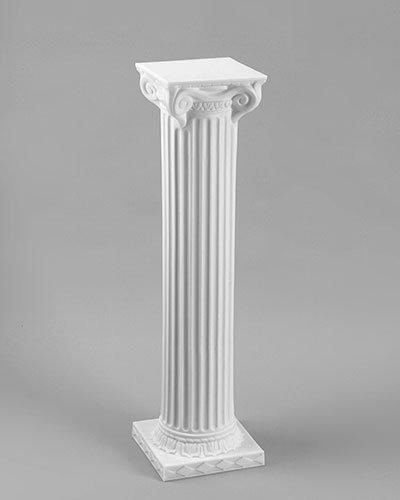 "40"" White Column"
