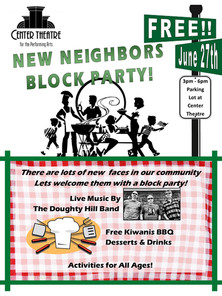 Free New Neighbors Block Party