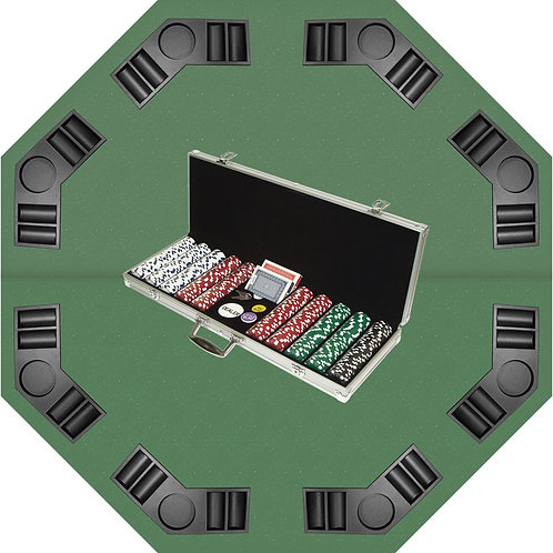 Poker/BlackJack Tabletop Set
