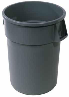 Plastic Trash Container