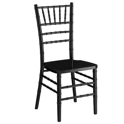 Chiavari Chair w/cushion - Black