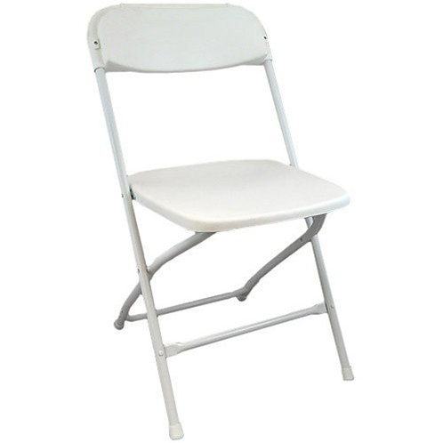 White Samsonite (Plastic) Chair