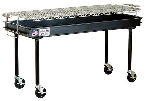 2' x 5' Charcoal Grill
