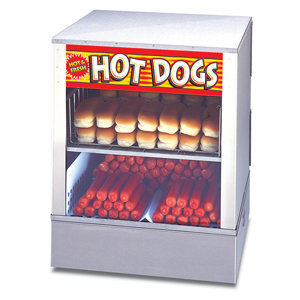 Hot Dog Machine & Bun Warmer