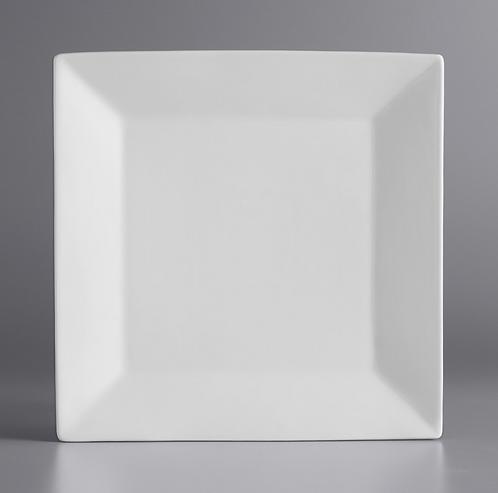 Square White Plate (priced per piece)