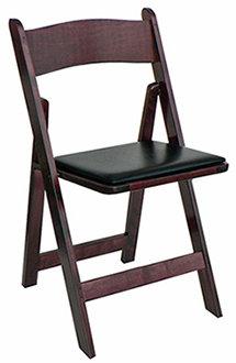 Mahogany Wedding Chair