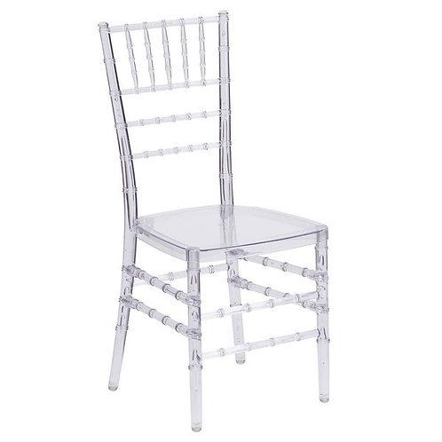Chiavari Chair w/cushion - Clear