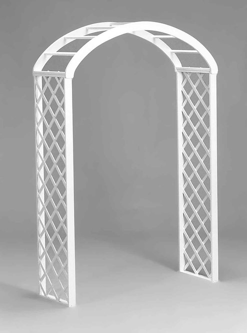 White Wood Trellis