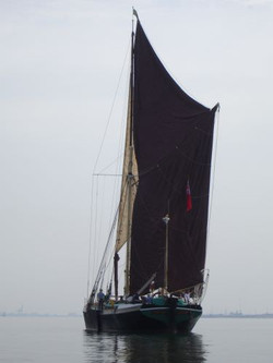 The main sail