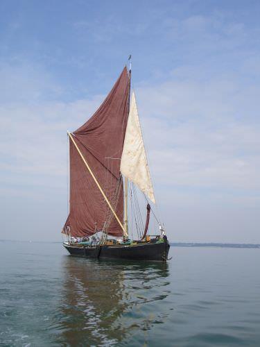SB Victor afloat 2