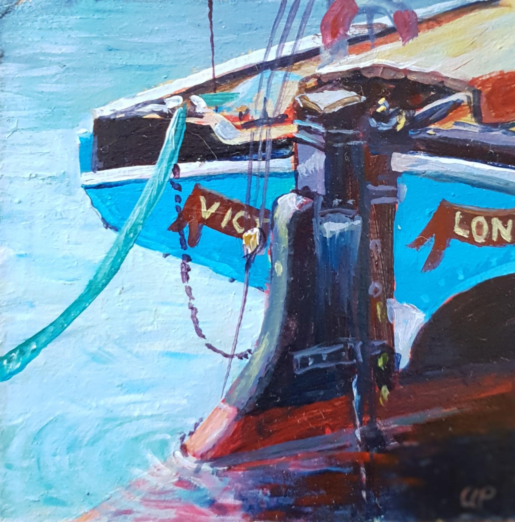 Sailing Barge Victor Beermat