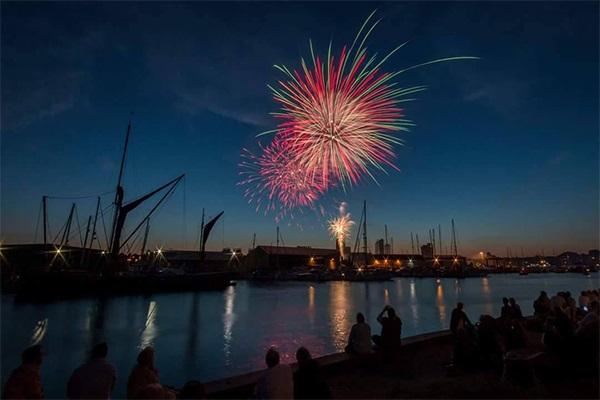 Ipswich Waterfront Fireworks