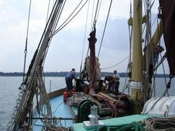 on board the SB Victor