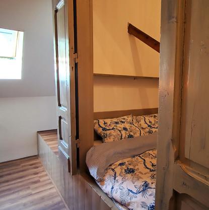 Kamer met twee bedstedes