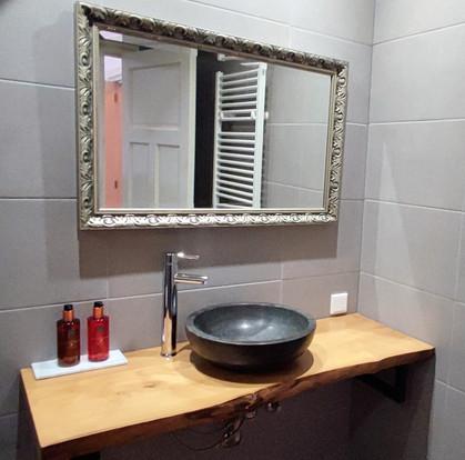 Badkamer gouden slaapkamer