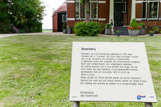 monument beschrijving plus voor aanzicht huis vanuit weg