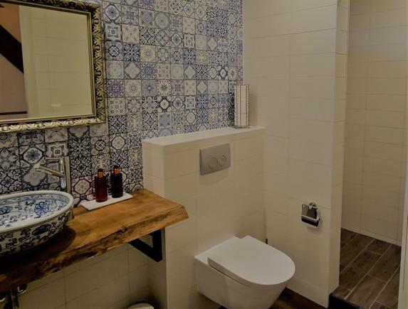 Badkamer bedstee kamer