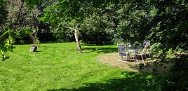 besloten tuin