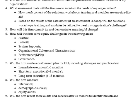 Is your organization looking for a DEI Consultant?