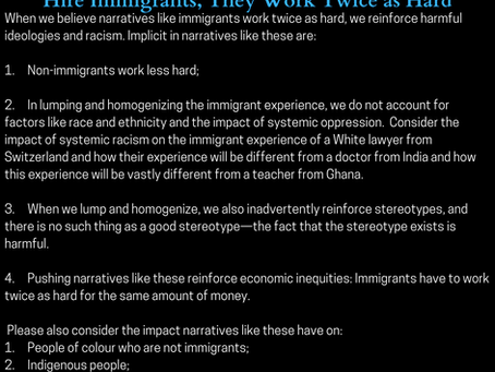 Diversity, Equity & Inclusion Alternative Facts #3: Hire Immigrants