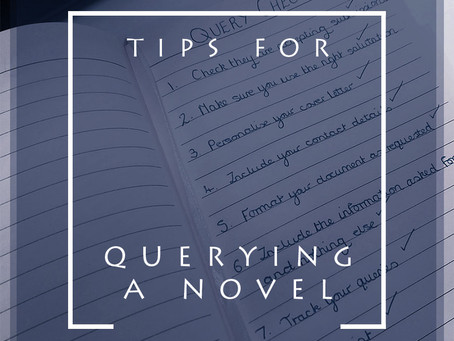 Tips for Querying A Novel
