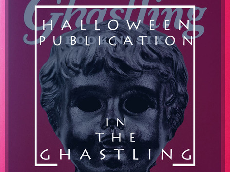 Halloween Publication: 'At the Stroke' in 'The Ghastling'