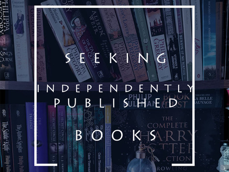 Seeking Independently Published Books to Review