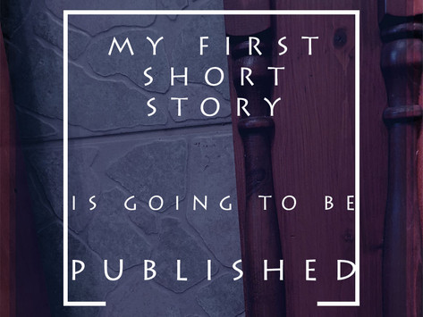 My First Short Story Is Going To Be Published