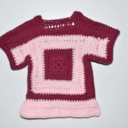New Crochet Baby Dress 6 9mos Home Thrifters Paradise