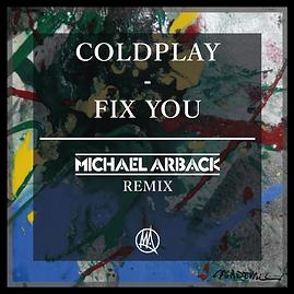 Artwork Coldplay - Fix you (Michael Arba