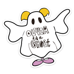 [Logo] - Olivia is a ghost