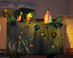 atelier avec enfants marionnettes dijon