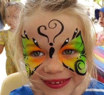 maquillage  Papillon