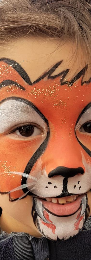 maquillage lionceau