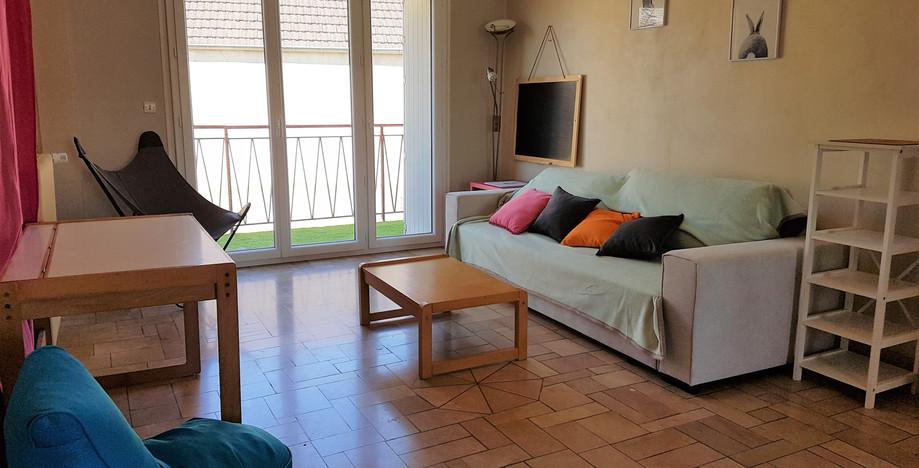 salon sur sur terrasse de 11 m²