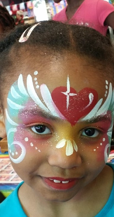 maquillage princesse coeur