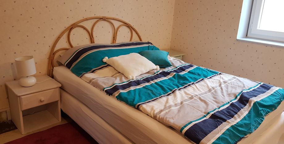 Chambre lit 2 places 140 cm