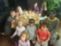 organiser un goûter d'anniversaire Besançon