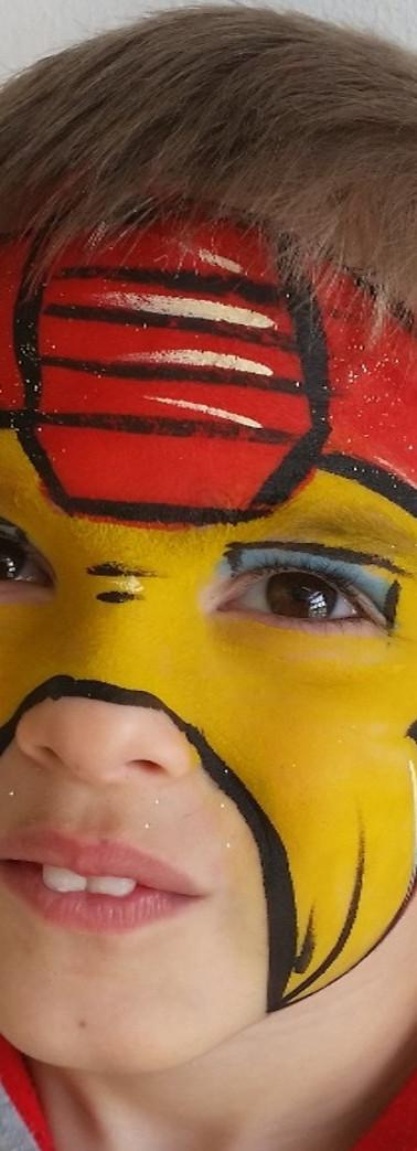 maquillage Iron man