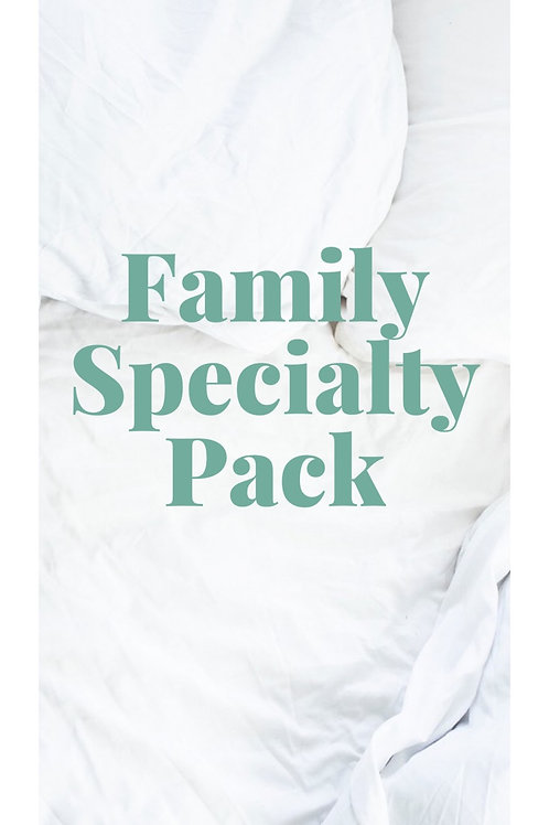 Family Speciality Pack